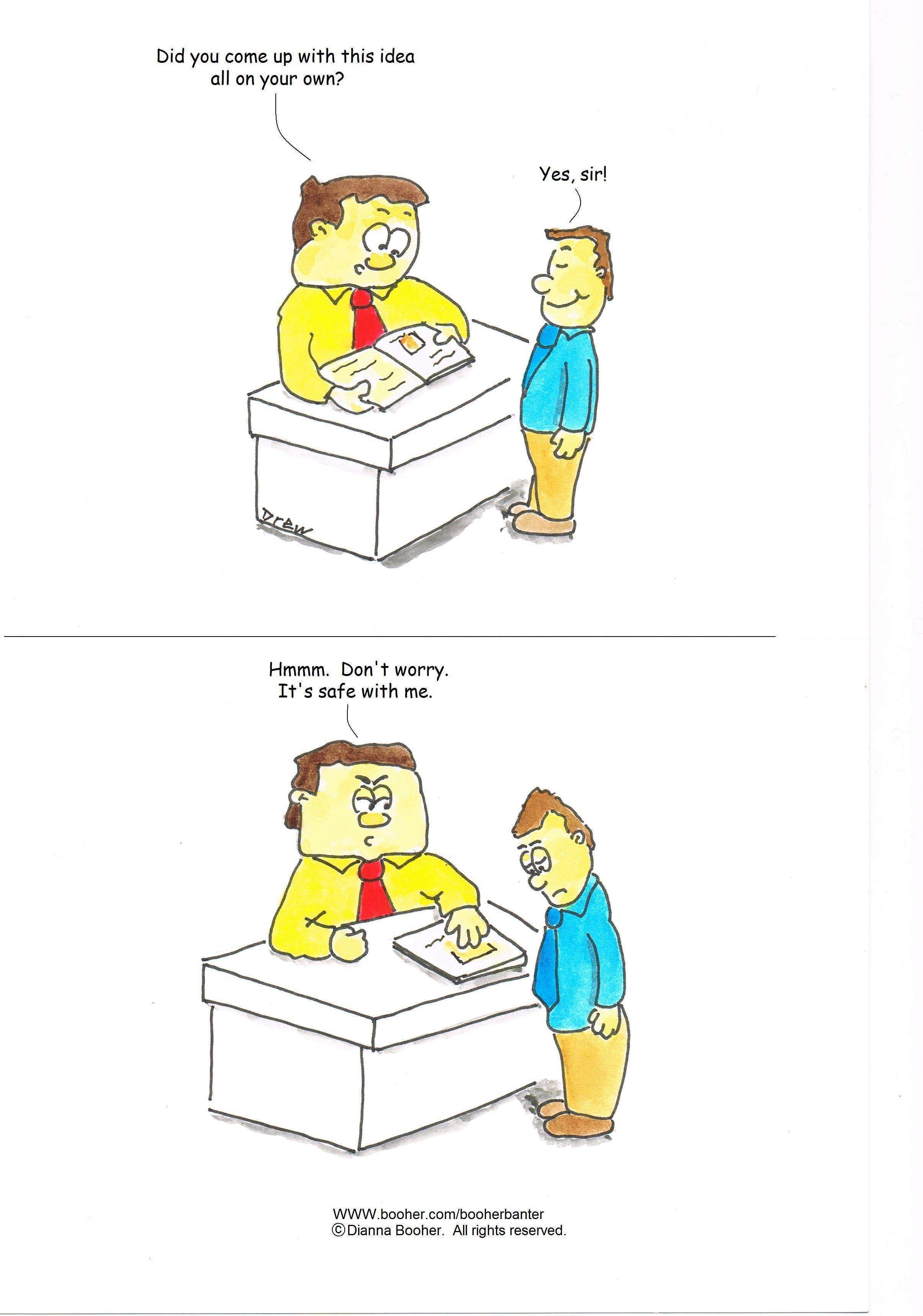 Cartoon #5 #cartoon #business #communication Cartoons