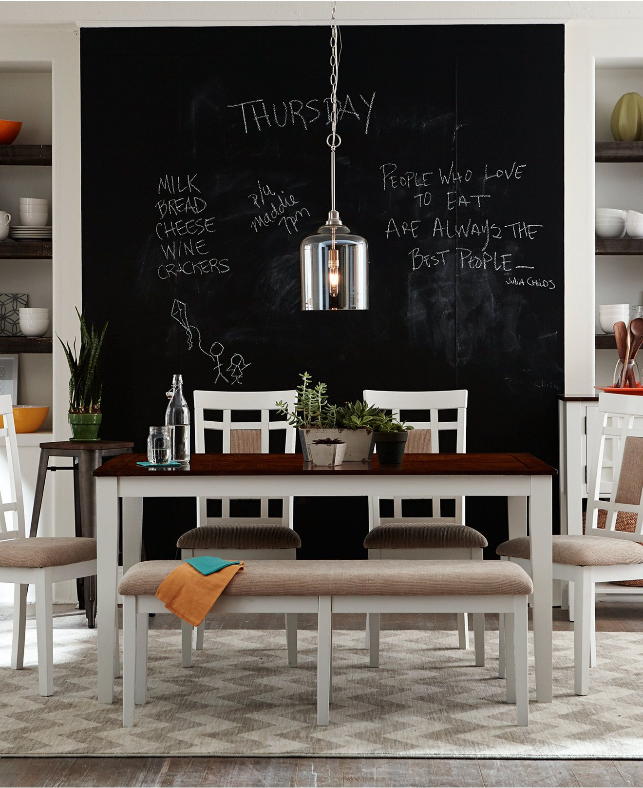 Best Delran White Dining Room Furniture Furniture Macy S 400 x 300