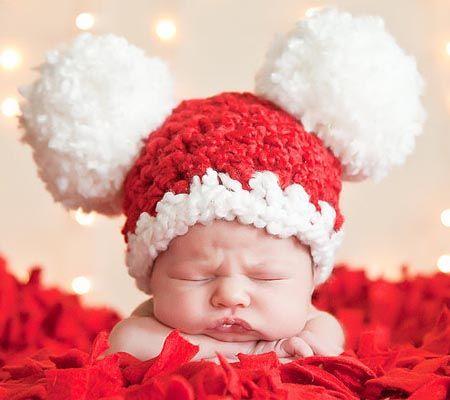 Santa & Elf Hats For Babies ~ A Round-Up | Disney Baby | для ...
