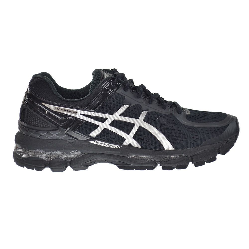 2055a71ed385 Asics Gel-Kayano 22 Women s Shoes Onyx Silver Charcoal t597n-9993 ...
