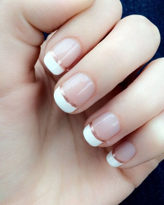Classy French Manicure ❤ | nails | Pinterest | Manicure, Classy and ...