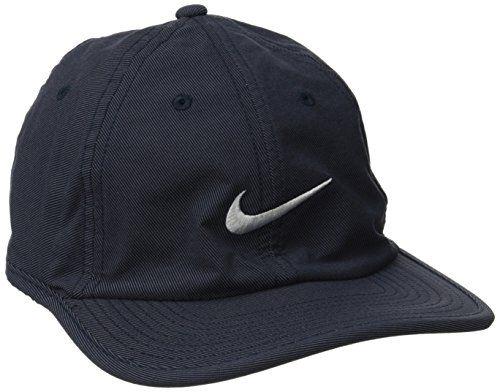 Nike Heritage Twill Adjustable Hat (Obsidian 8a9a64f58d6