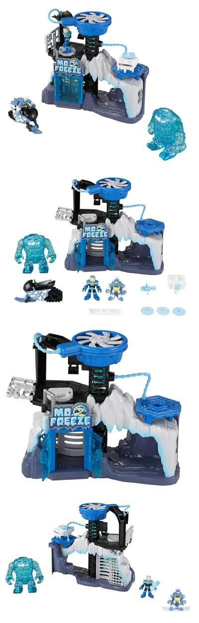 Imaginext 50305: Fisher-Price Dc Super Friends Mr. Freeze Gift Set ...