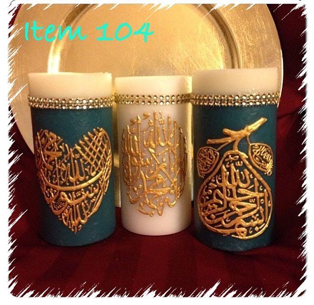 Item 104. Islamic trio. Price $45.00. Pacsw@aol.com.