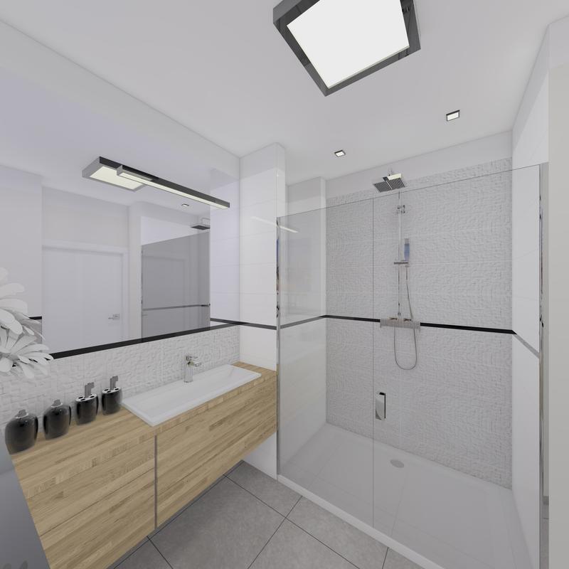 Home Cinema Design Szukaj W Google: Biało Szara łazienka - Szukaj W Google
