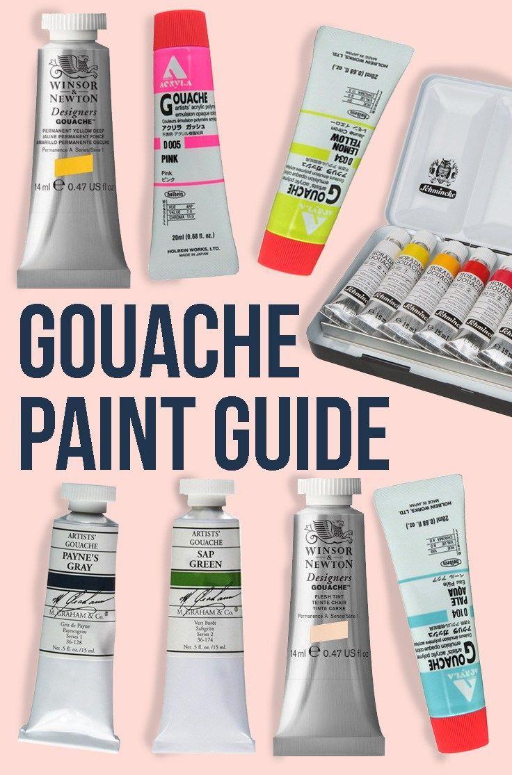 Best Gouache Paint Brands Gouache Basics Best Gouache Paint