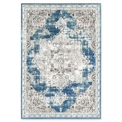 Rugs America Assent Vintage 8 X 10 Power Loomed Indoor Outdoor