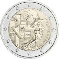 Frankreich 2 Euro 2020 bfr. Charles de Gaulle Euromünzen
