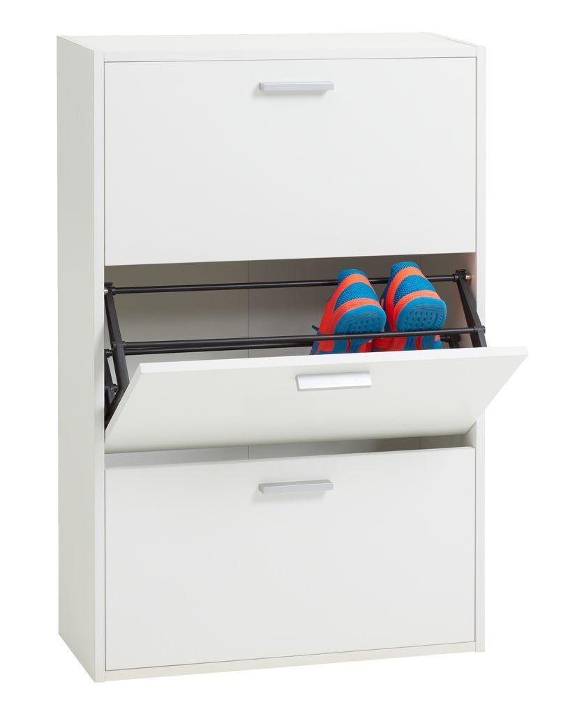 Bathroom Cabinets Jysk schoenenkast bagenkop 3 vakken wit | jysk 45,- | josh table