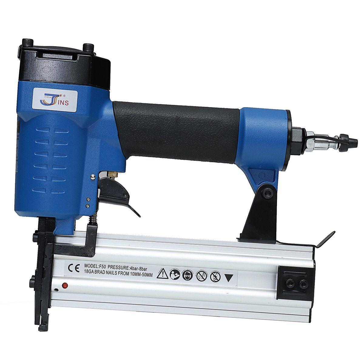 F50 Pneumatic Staple Nailer Industrial Grade Combo Nail