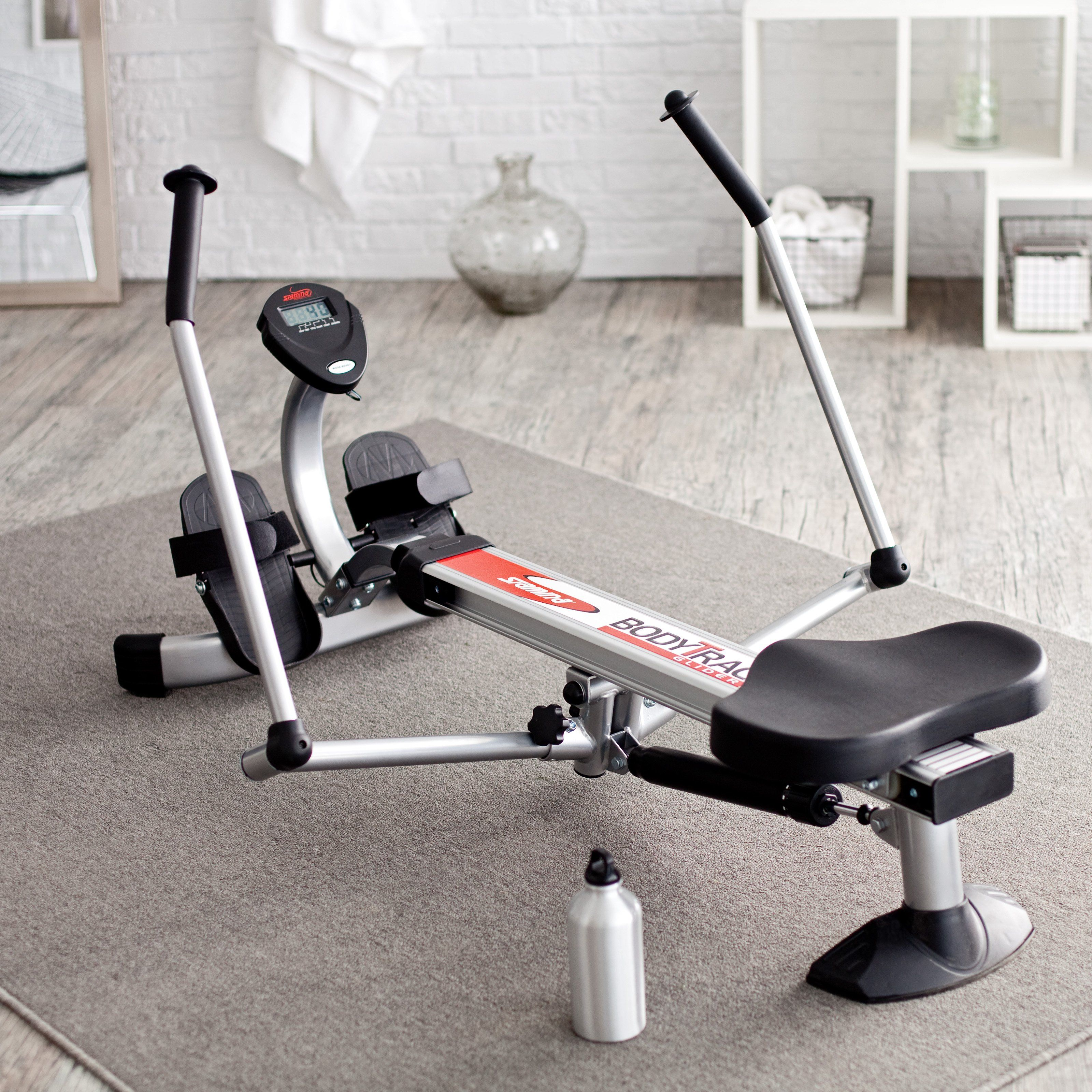 Have To Have It Stamina 1050 Body Trac Glider Rowing Machine 144 98 No Equipment Workout Rowing Machines Rowing
