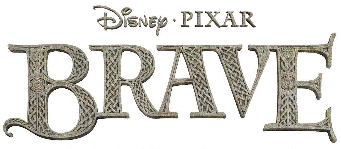 Brave Font Title May Be Able To Use Brave Party Images Pixar