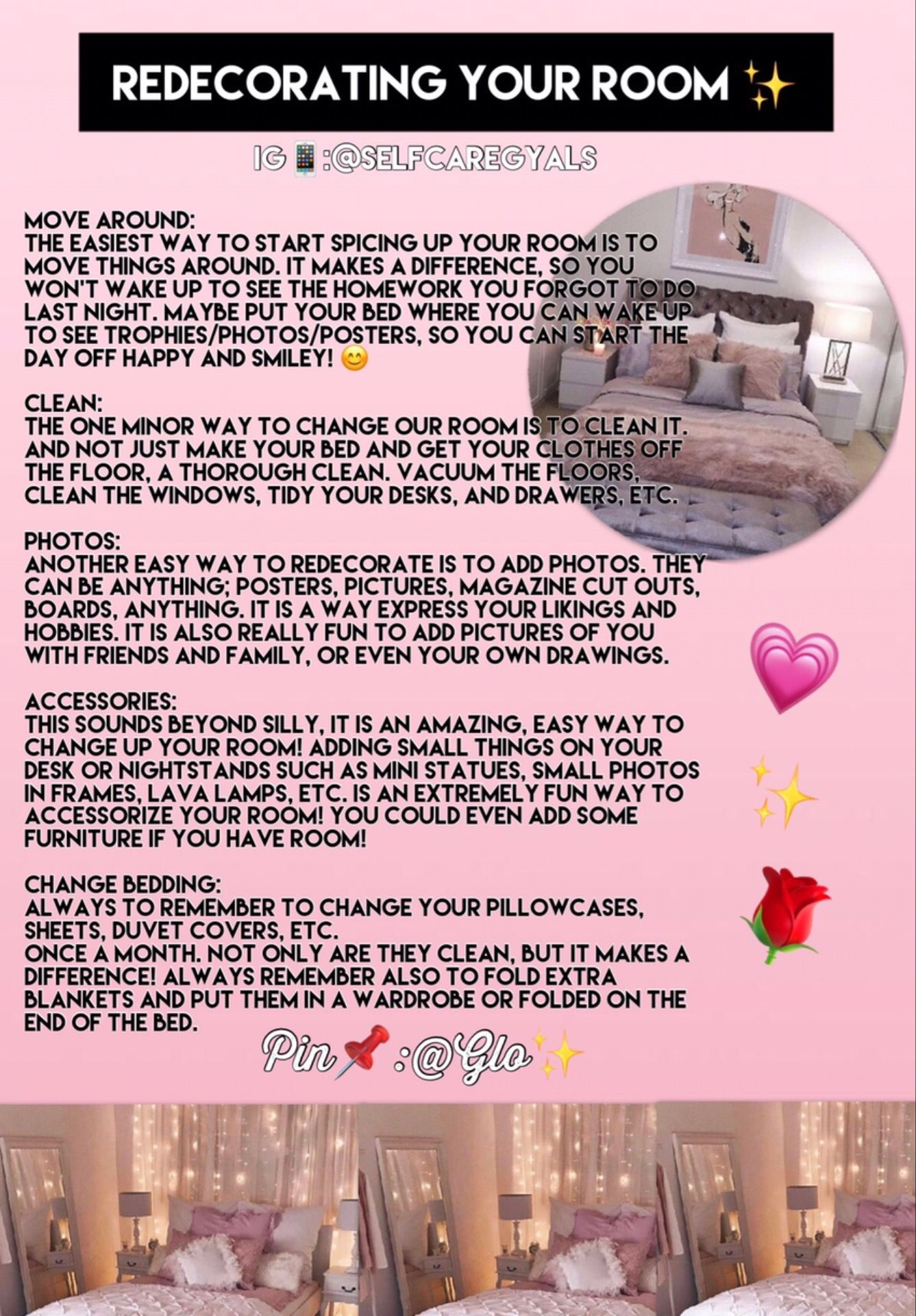 Follow Me Glo For More Room Cleaning Tips Cleaning My Room Clean Bedroom