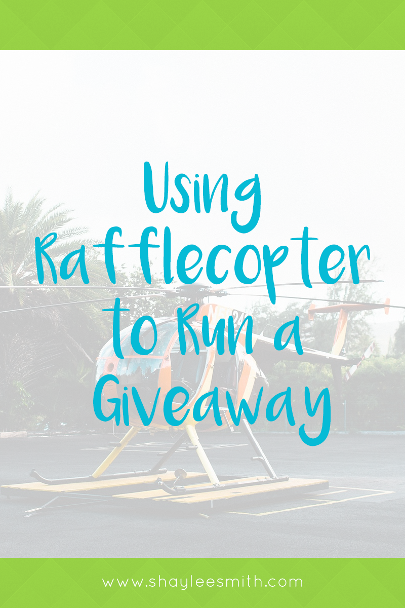 How to Use Rafflecopter to Run a Giveaway | Online Contests