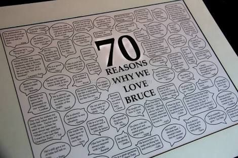 Image Result For 70th Birthday Party Ideas Women