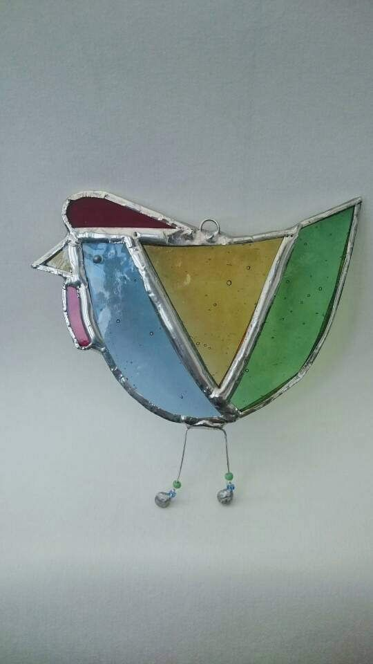 Hey, I found this really awesome Etsy listing at https://www.etsy.com/uk/listing/509282336/spring-chicken-stained-glass-suncatcher