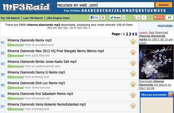 descargar musica en nmp3 buscador