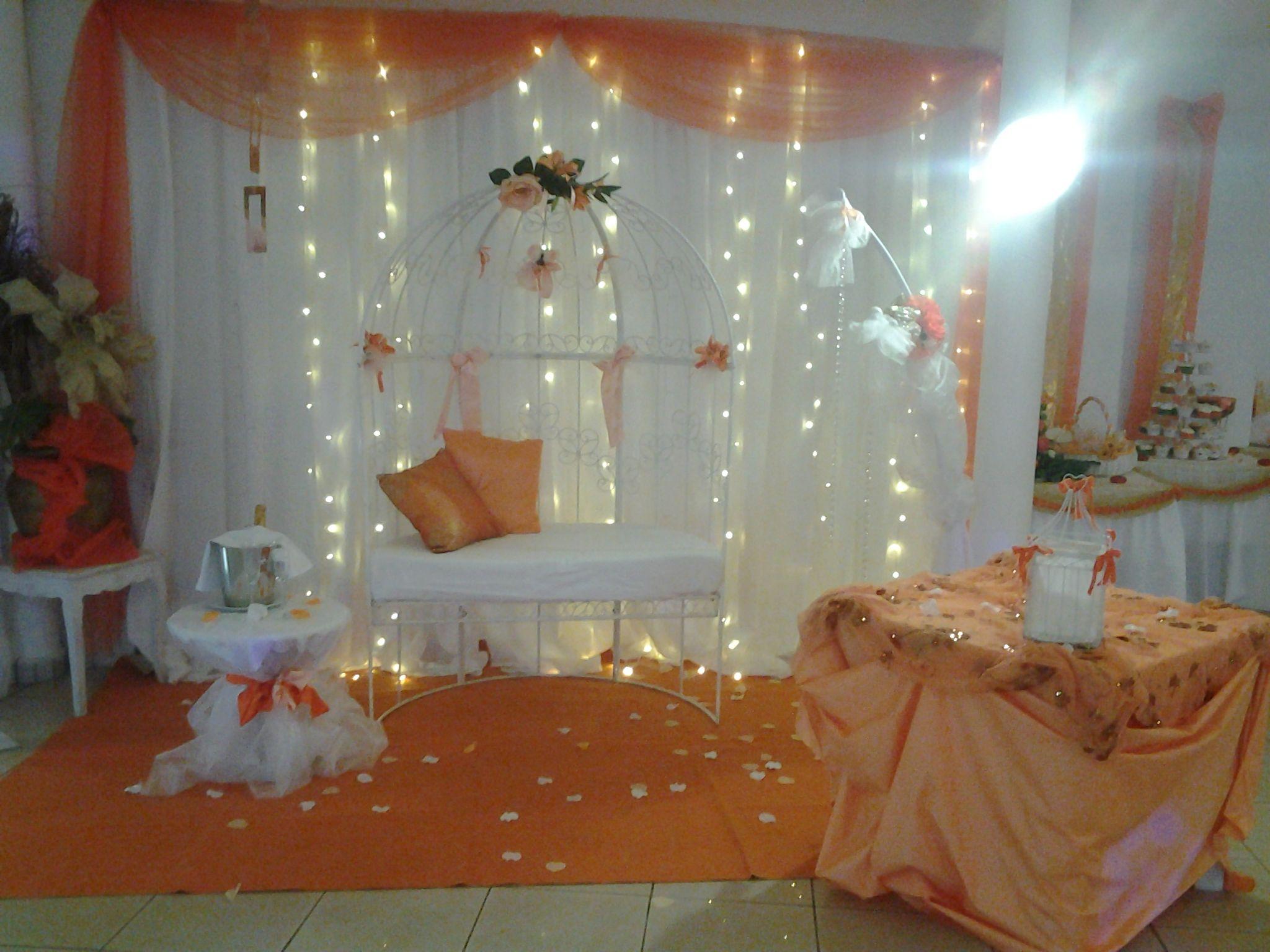 Décoration De Mariage Décoration De Salle Mariage En Orange Et