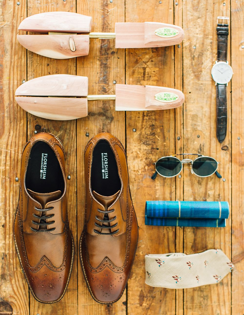 Add a pair of Florsheim dress shoes to your repertoire.