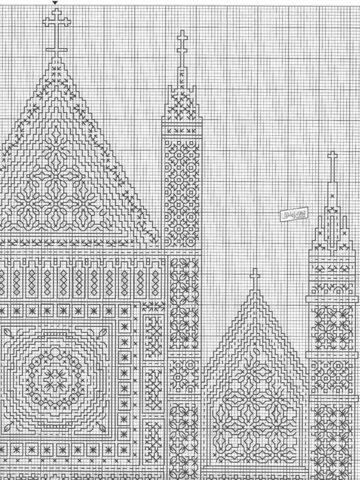 75727401 Catedral gran 03 | Blackwork | Pinterest | Catedrales ...