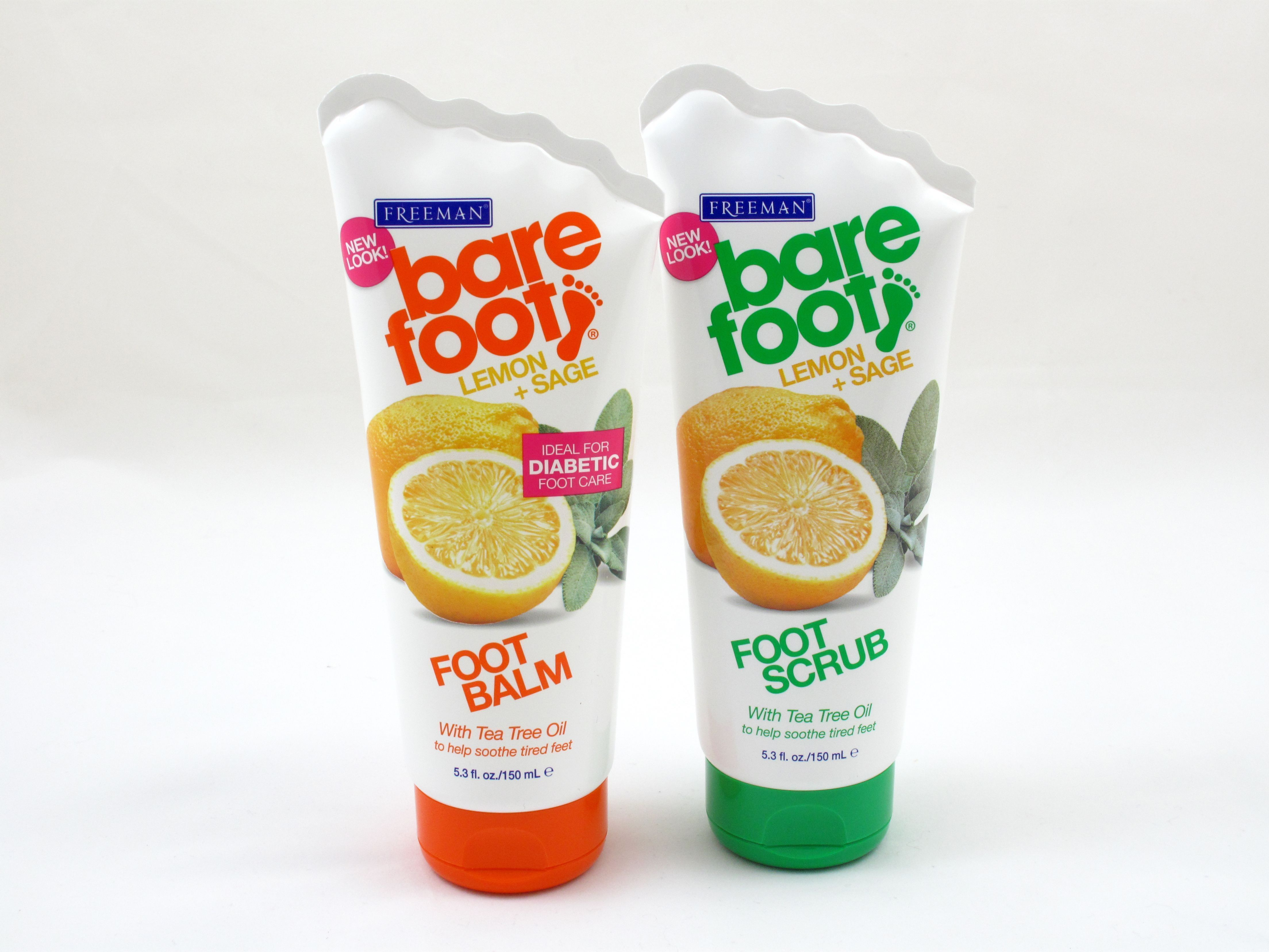 The perfect pair! Exfoliates rough dry patches on soles and heels with a combination of Pumice, Walnut Shell and Sugar. The revitalizing foot balm helps restore moisture to dry cracked skin while softening calluses. Lemon & Sage help to keep feet refreshed and invigorated. Arginine helps maintain foot health by improving tone and texture. #TeaTreeOilForSkin #FootSoakForDryFeet #FootSoakEpsomSalt #SkinCareBlockedPores #crackedskinonheels The perfect pair! Exfoliates rough dry patches on soles and #crackedskinonheels