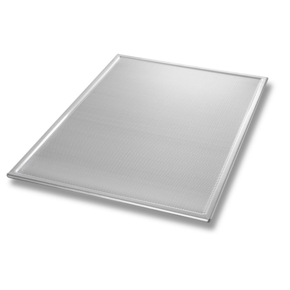 Chicago Metallic 44800 Glazed Perforated Cookie Style Baking Sheet Click Image For More Details This Is An Affiliat Chicago Metallic Baking Sheet Cake Pans