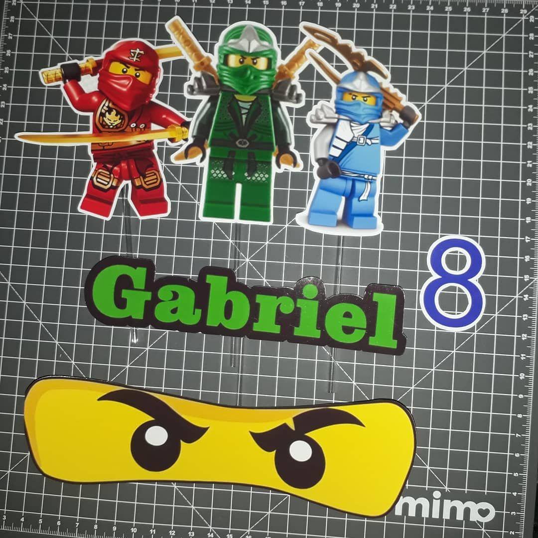 Mais Um Especial Topo De Bolo Ninjago Personalizamos Qualquer Tema Orcamento Via Whatsapp Ou Pelas Nossas Redes Sociais Play Book Lego Games Ninjago