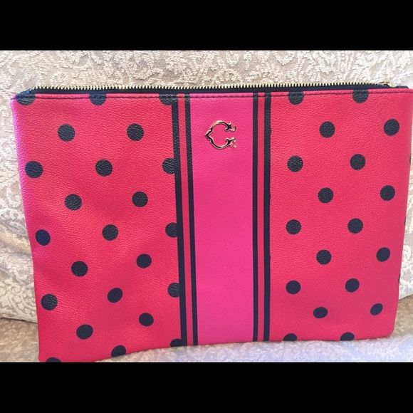 C Wonder clutch Brand new clutch - never used, no damage. This item is new without tags. Bags Cosmetic Bags & Cases