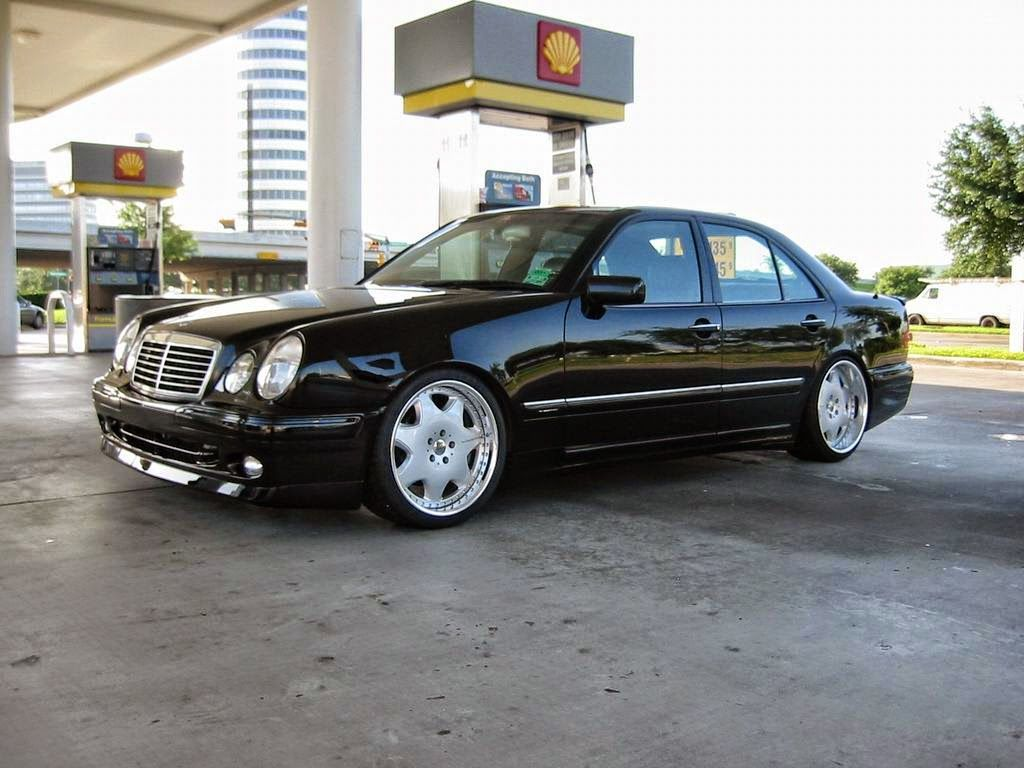 Mercedes w210 tuning 2 tuning cars - Mercedes Benz E Klasse W210 Stance Style