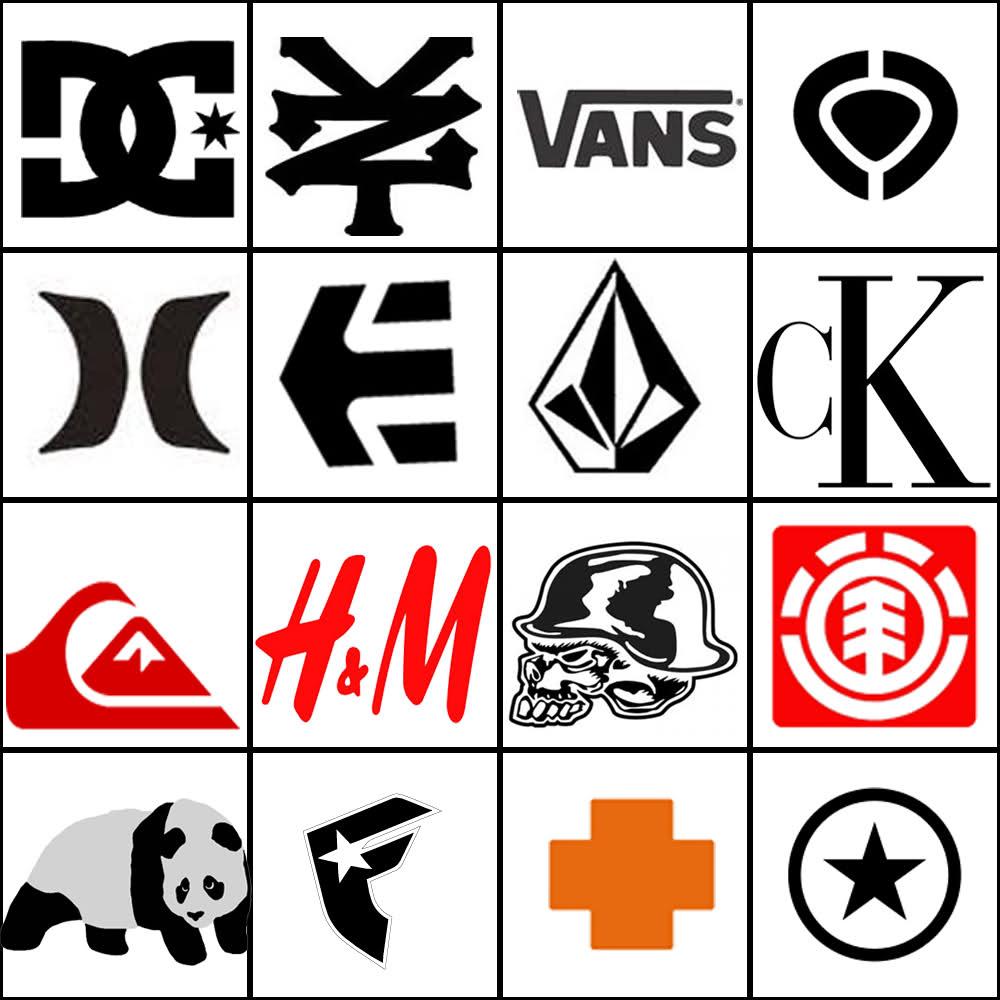 famous logo designs Google Search Clothing logo