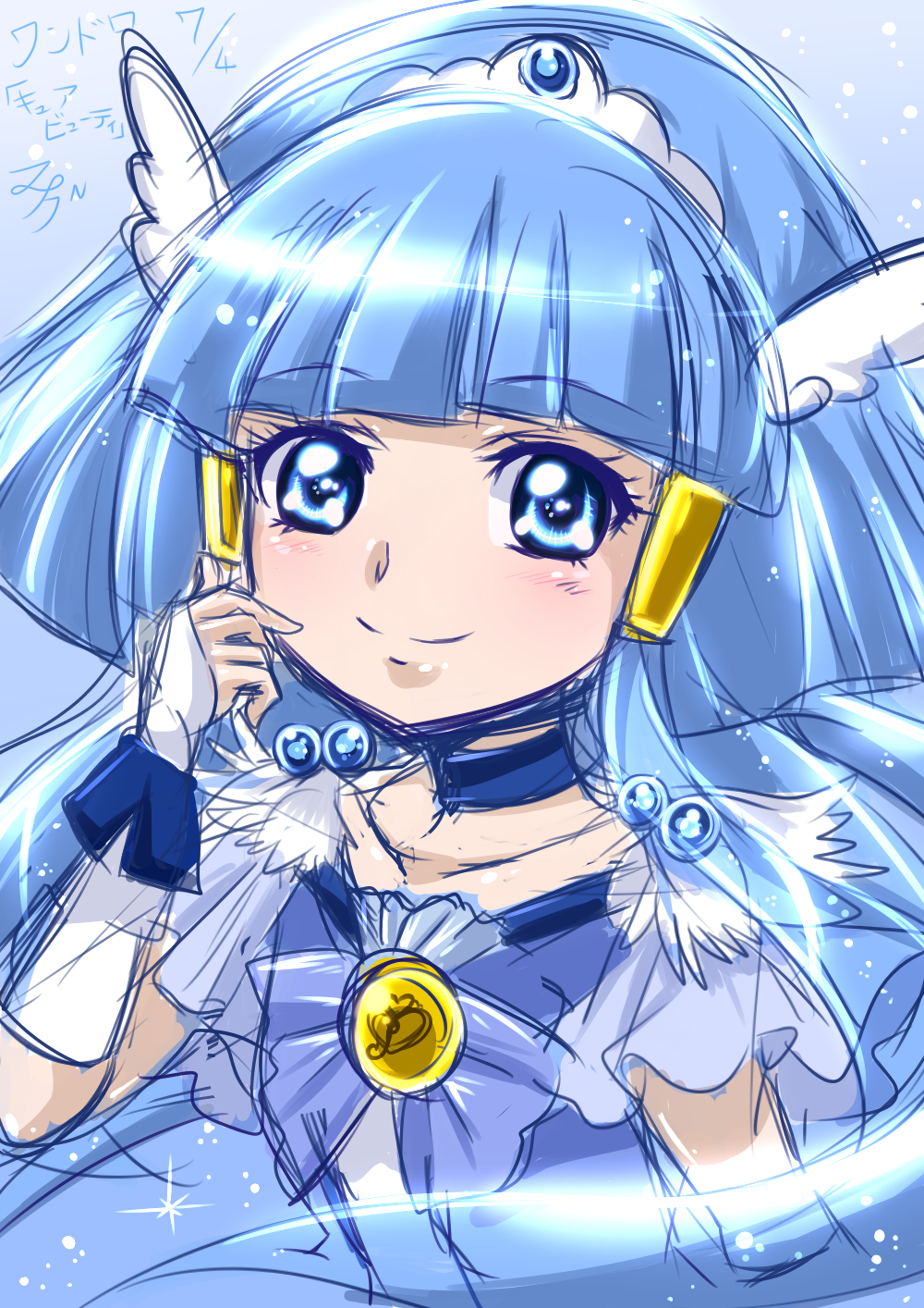 Glitterforce Glitter Force Characters Magical Girl Anime Glitter Force
