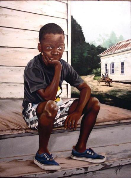 Image result for black art boy