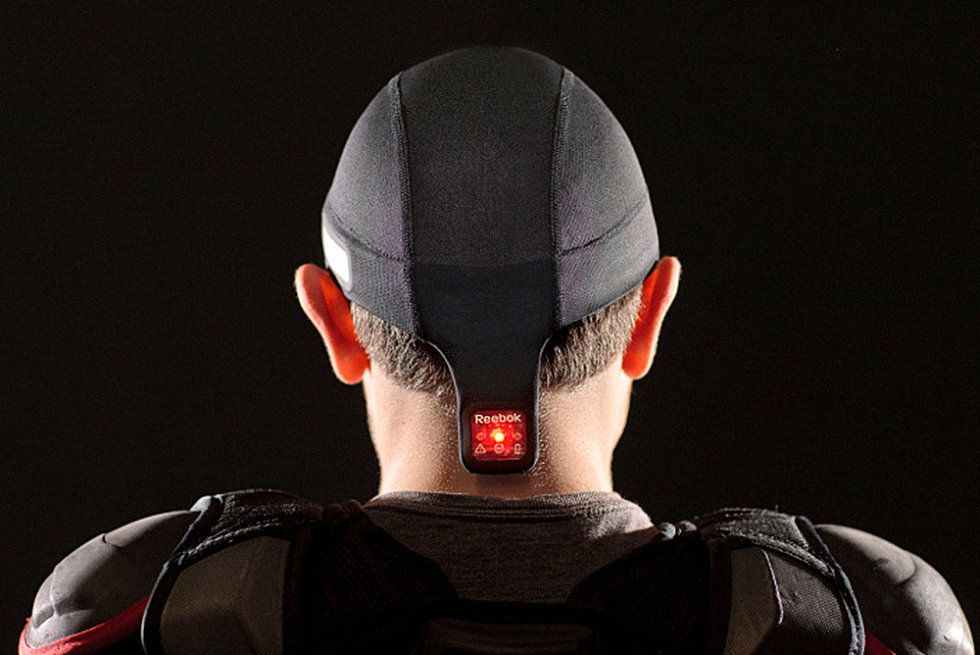By Reebok and MC10 This skullcap embedded with sensors detects dangerous head injuries in athletes, tackling one of the sports world's most difficult problems.