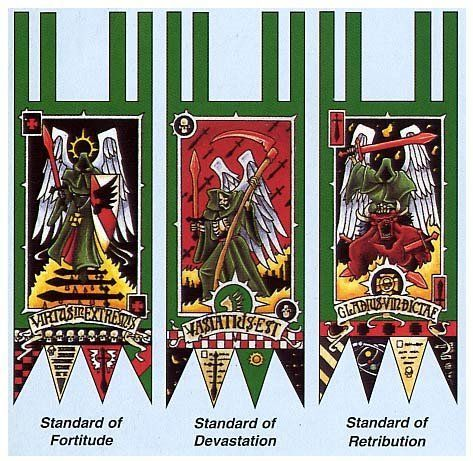 Space Wolves Banners DARK ANGELS BANNERS | ...