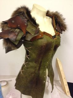Viking costume larp fur vest 2xl larco investments address books