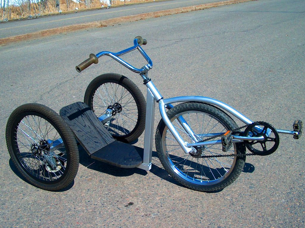Spincycle Stunt Trike Diy Plan Atomiczombie Diy Plans Projects