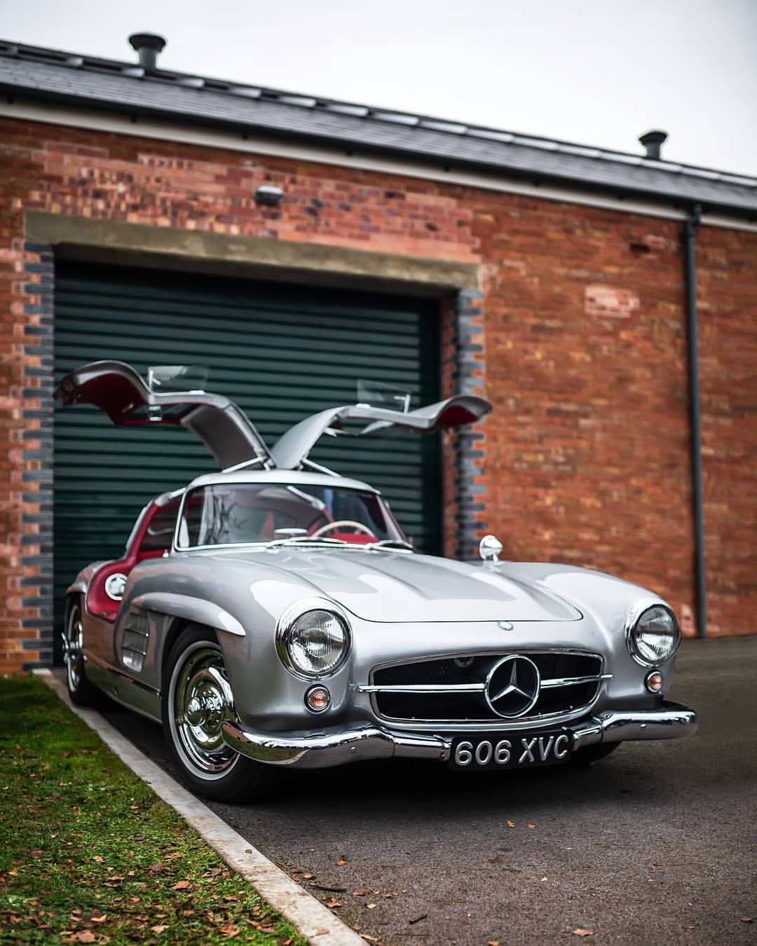 Gullwing Doors Are Seriously Cool. #300sl #mercedes