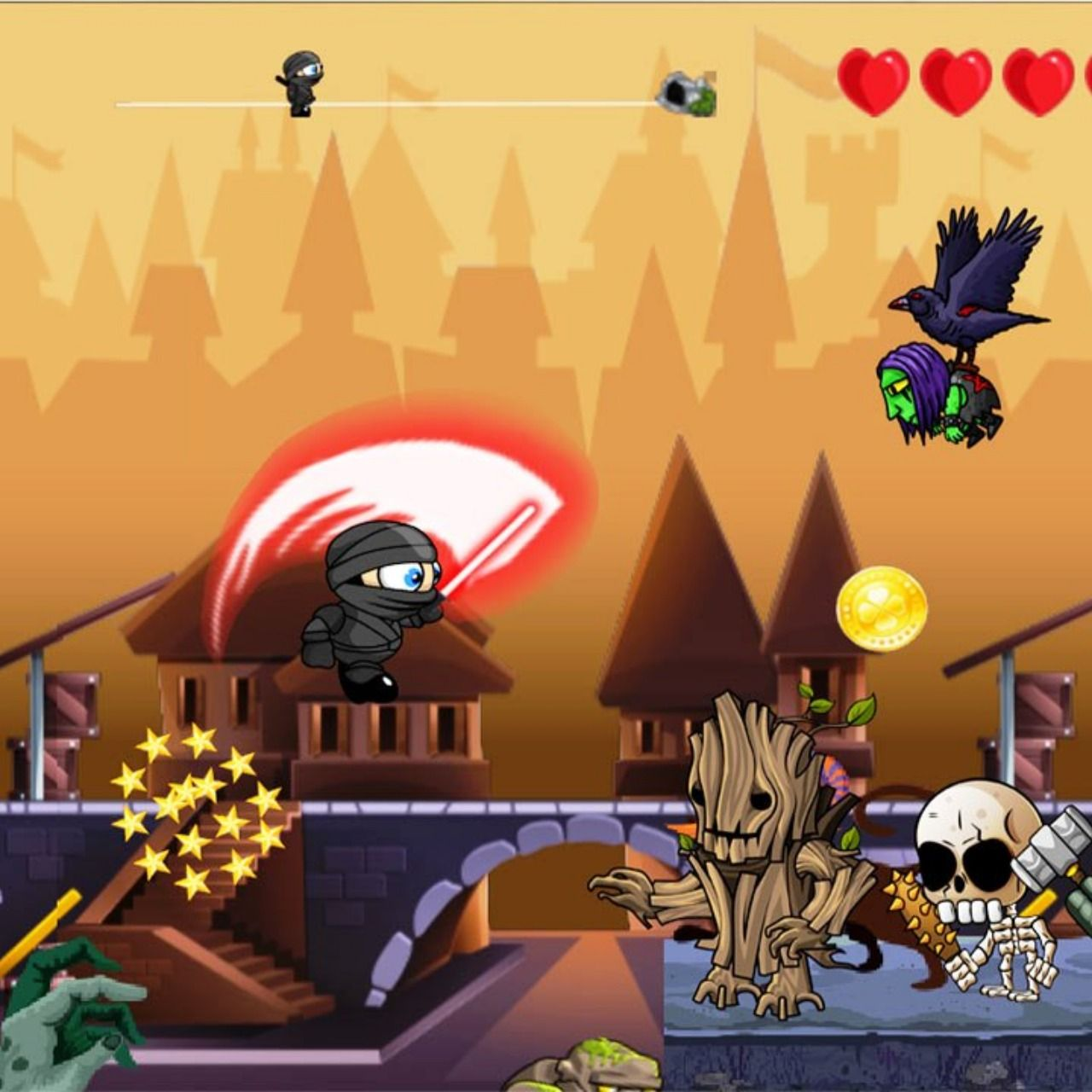 We have released a new action adventure 2D android game in