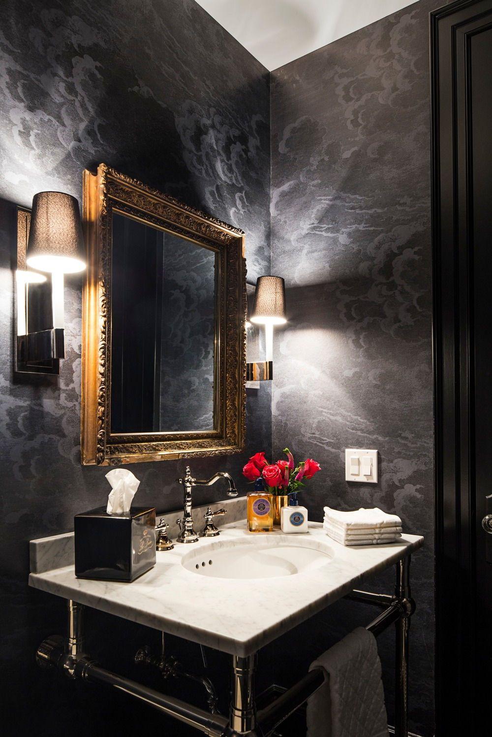 35 Powder Room Design Ideas Photos Powder Room Design Modern