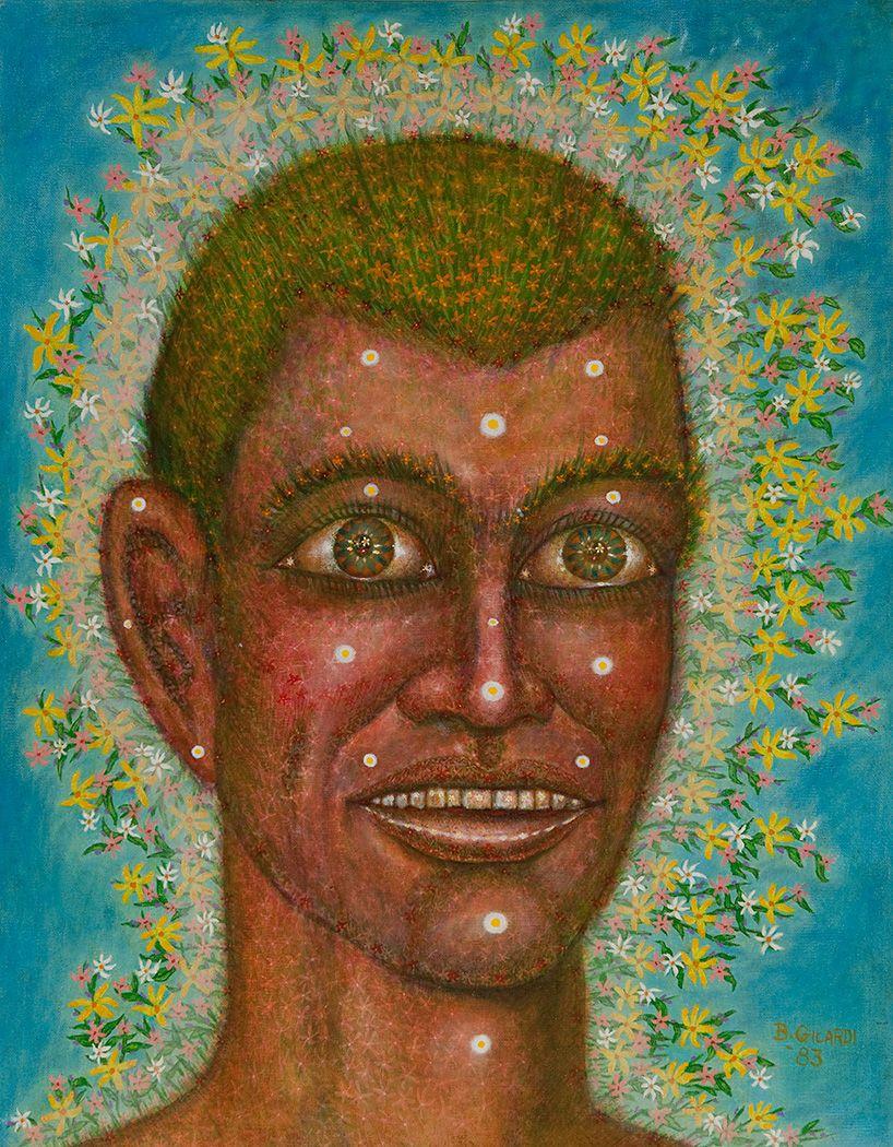 Oil painting by Milwaukee artist Bernard Gilardi