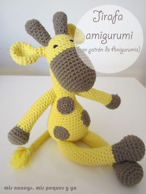 mis nancys, mis peques y yo, jirafa amigurumi | Boda | Pinterest ...