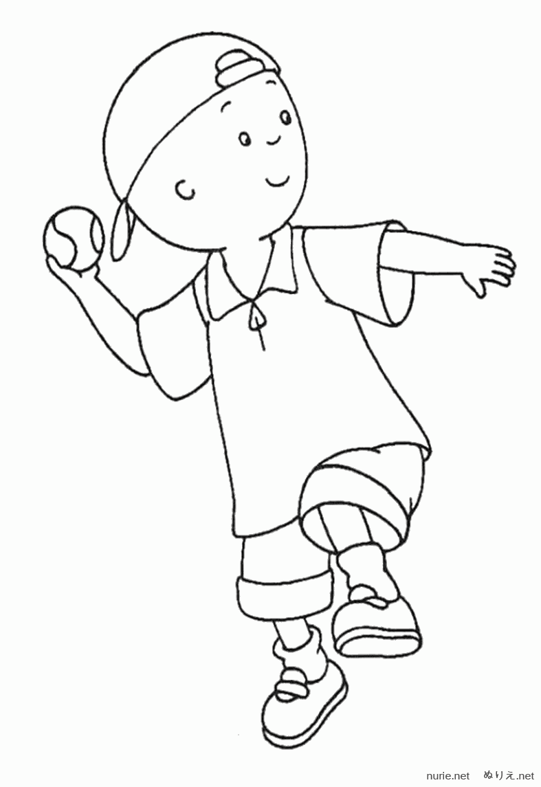 caillou-nurie-010 - caillou-nurie-010.png | Educational | Pinterest