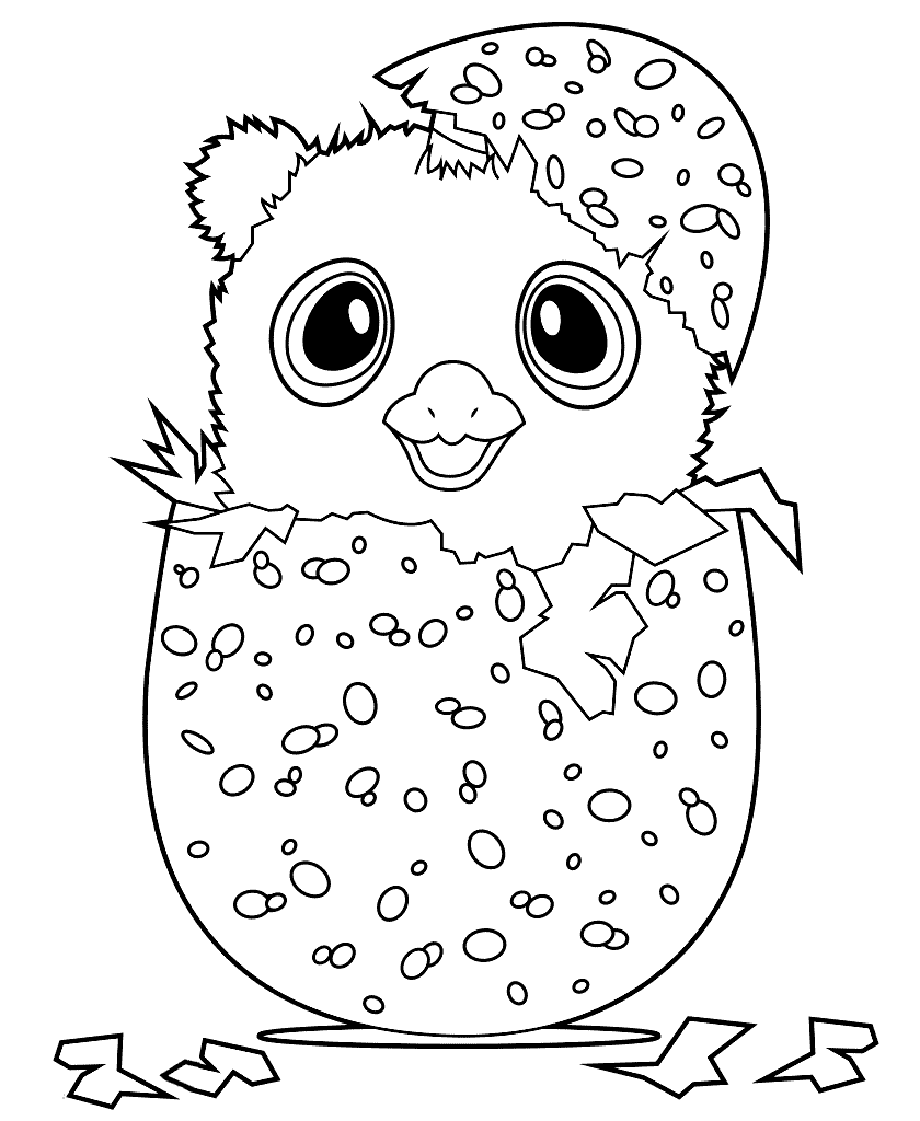 Hatchimals Coloring Pages Toys And Action Figure Coloring Pages