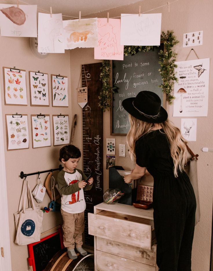 Photo of Montessori Inspired Homeschool Room: Take A Tour – bruna masalin