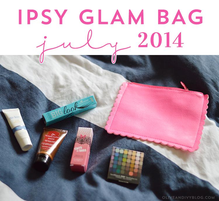 Ipsy Glam Bag Review July 2014 Ipsy glam bag, Glam bag