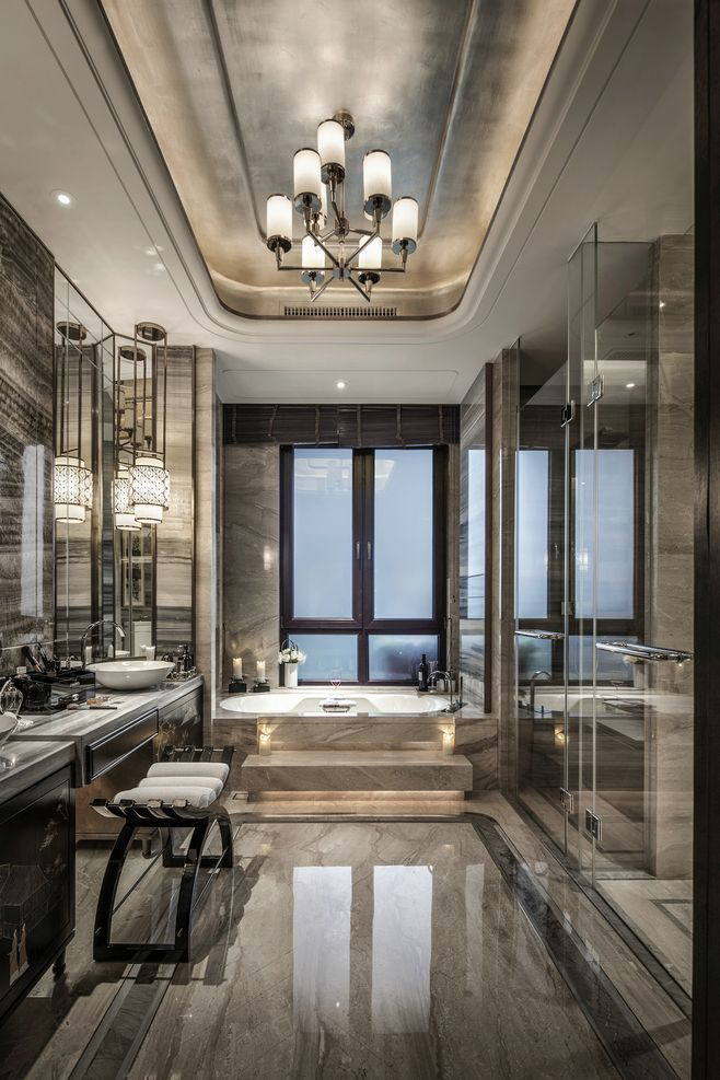 Elizabeth's bathroom Floor 3 | Modern master bathroom ...
