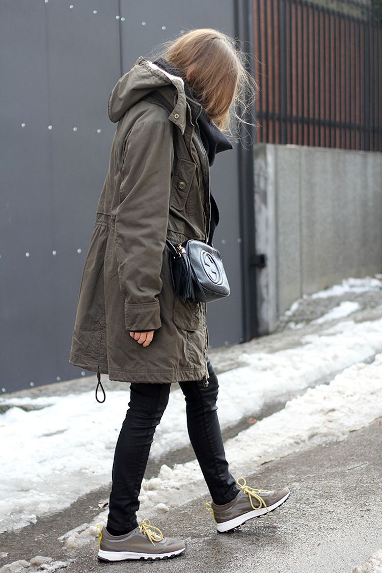 Grün Kombinieren Mode Damen Winter Military Parka N8PXZn0wkO