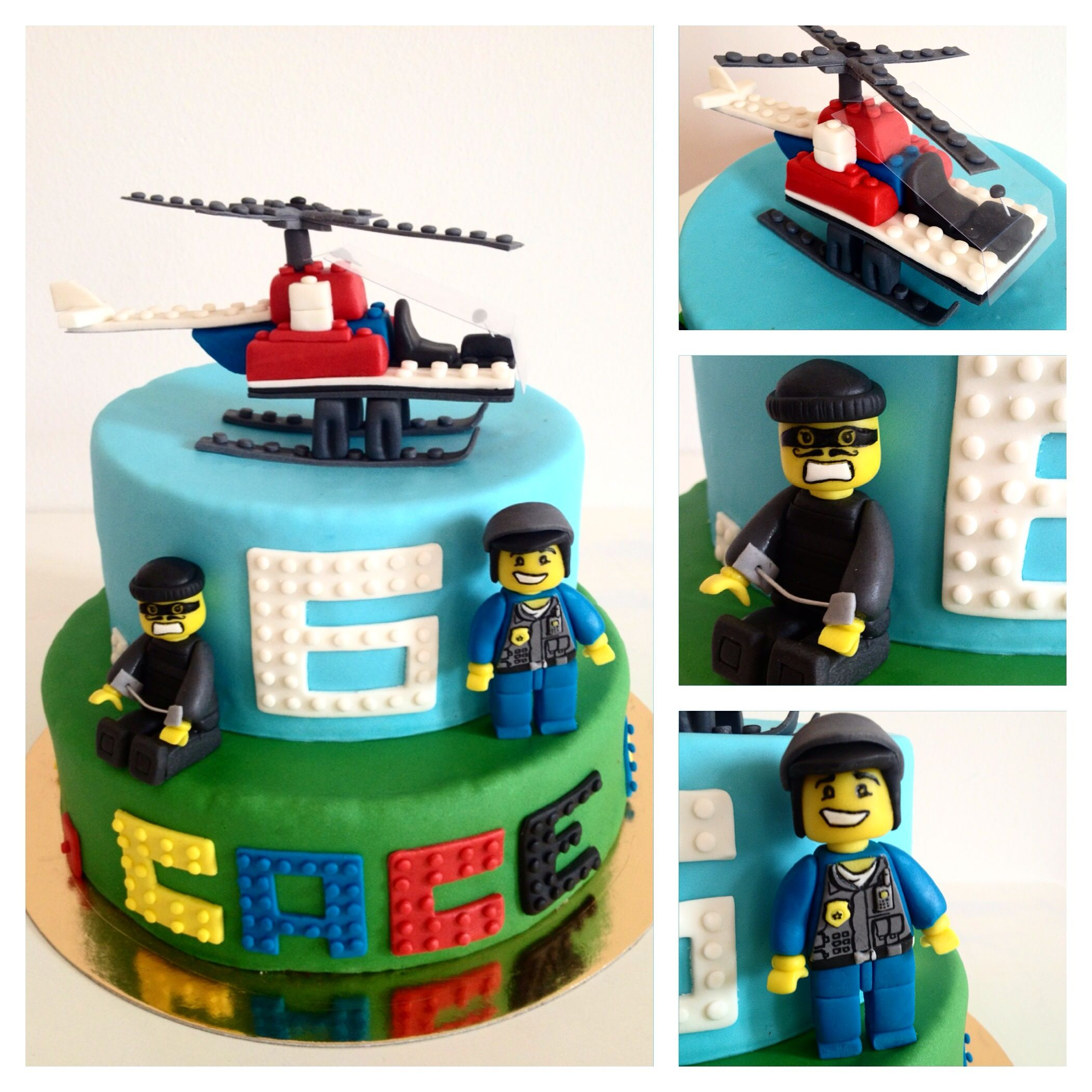 Lego City Cake Lego City Cakes Lego Birthday Cake Superman