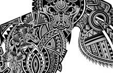 Polynesian Wolf Tattoo Meaning