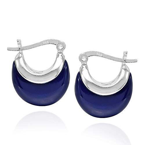 0ae1d34e4 Raw Diamond Huggie Hoop Earrings - Sterling Silver Huggie Earring - Uncut  ... | Earrings | Earrings, Sterling silver earrings, Raw diamond